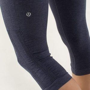 Lululemon Ruched Crop Legging